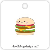 Cheeseburger Collectible Pins - Doodlebug