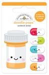 Pill Better Doodle-Pops - So Much Pun - Doodlebug