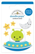 Out Of This World Doodle-Pops - So Much Pun - Doodlebug - PRE ORDER