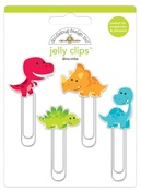 Dino-mite Jelly Clips - So Much Pun - Doodlebug