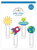 Out Of This World Jelly Clips - So Much Pun - Doodlebug