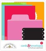 Cards & Envelopes - So Much Pun - Doodlebug