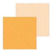 Tangerine Foral-Graph Petite Prints - Doodlebug - PRE ORDER