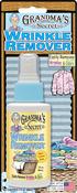 3oz - Grandma's Secret Travel Wrinkle Remover Blister Card