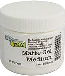 Matte - Crafter's Workshop Gel Medium 2oz