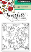 Appreciation - Penny Black Clear Stamps