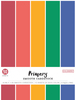 "Primary, 5 Colors/10 Each - Colorbok 78lb Smooth Cardstock 8.5""X11"" 50/Pkg"