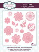 Blooms - Creative Expressions Stitched Die Collection