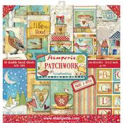 Patchwork Stamperia Double-Sided Paper Pad