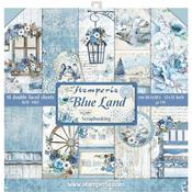 Blue Land Stamperia Double-Sided Paper Pad
