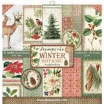 Winter Botanic Stamperia Double-Sided Paper Pad - PRE ORDER