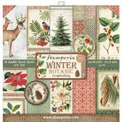 Winter Botanic Stamperia Double-Sided Paper Pad