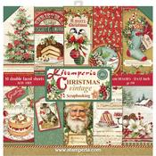 Christmas Vintage Stamperia Double-Sided Paper Pad