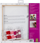 """Rose Stamped On Stretched Canvas - Anchor Big Stitch Art Embroidery Kit 12""""X12"""""""