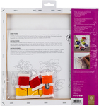 """Daffodil Stamped on Stretched Canvas - Anchor Big Stitch Art Embroidery Kit 12""""X12"""""""