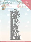 Growth Chart - Find It Trading Yvonne Creations Welcome Baby Die