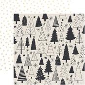 Evergreen Foil Paper - First Noel - KaiserCraft