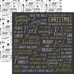 Wonderful Foil Paper - First Noel - KaiserCraft