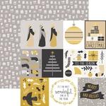 Starry Foil Paper - First Noel - KaiserCraft