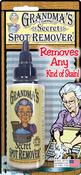 2oz - Grandma's Secret Spot Remover Blister Card