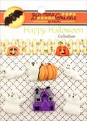 Boo Buddies - Buttons Galore Halloween Buttons 6/Pkg
