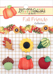 Harvest Happenings - Buttons Galore Fall Buttons 6/Pkg