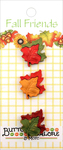 Maple Leaves - Buttons Galore Fall Buttons 3/Pkg