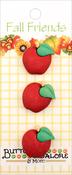 Apples - Buttons Galore Fall Buttons 3/Pkg