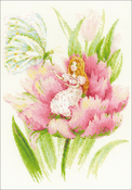 "Thumbelina (18 Count) - RIOLIS Counted Cross Stitch Kit 8.25""X11.75"""