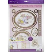 Plant A Little Happiness - Hunkydory Garden Treasures Luxury A4 Topper Set
