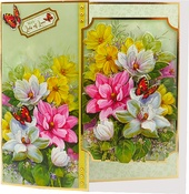 Floral Fancy - Hunkydory Floral Favorites A4 Decoupage Set