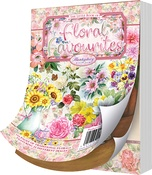 Floral Favorites, 24 Designs/6 Each - Hunkydory The Little Book Of A6 Paper Pad 144/Pkg