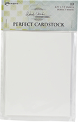 "White Panels - Wendy Vecchi Perfect Cardstock 4.25""X5.5"" 10/Pkg"