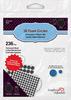 Scrapbook Adhesives 3D Foam Circles - Black