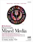 "12 Sheets - Strathmore 500 Series Heavyweight Mixed Media Pad 11""X14"""