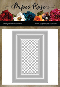 Stitched Rectangle Frames - Paper Rose Dies
