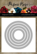 Stitched Circle Frames - Paper Rose Dies