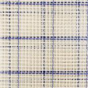 "36""X60"" Blue Checked - Zweigart Rug Canvas 36""X60"" 3.75 Mesh"