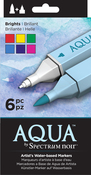 Brights - Spectrum Noir Aqua Markers 6/Pkg