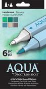Landscape - Spectrum Noir Aqua Markers 6/Pkg