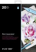 "Spectrum Noir Premium Watercolor Pad 9""X12"""