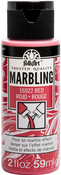 Red - FolkArt Marbling Paint 2oz
