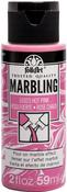 Hot Pink - FolkArt Marbling Paint 2oz