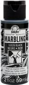 Black - FolkArt Marbling Paint 2oz