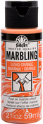 Orange - FolkArt Marbling Paint 2oz
