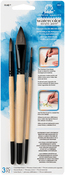 FolkArt Painting Tool Watercolor Brush Set 3/Pkg