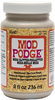8oz - Mod Podge Mega Glitter Gold Use Mod Podge Mega Glitter topcoat to enhance your projects with an intense glitter finish with a shimmering, lustrous shine. Layer multiple coats to create even more sparkle. Works well on jewelry, fashion accessories, decor projects and more. This package contains 8oz of Mode Podge glitter. Non-toxic. Conforms to ASTM D 4236. Made in USA.