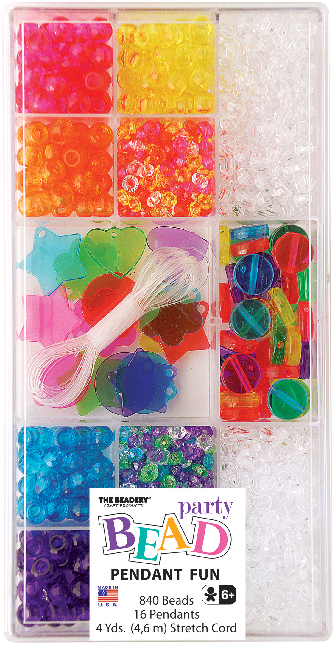 Translucent Coin - Party Bead Box Kit