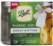 Quart, 32oz - Ball(R) Wide Mouth Sharing Jars 4/Pkg
