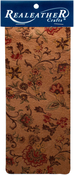 """Marigold Natural - Realeather Crafts Goat Leather Trim Piece 9""""X3"""""""